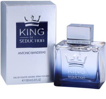 Antonio Banderas King of Seduction eau de toilette pour homme 100 ml