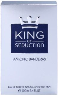 Antonio Banderas King of Seduction eau de toilette per uomo 100 ml