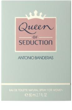 Antonio Banderas Queen of Seduction Eau de Toilette für Damen 80 ml