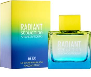 Antonio Banderas Radiant Seduction Blue Eau de Toilette for Men 100 ml