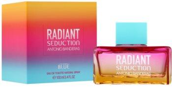 Antonio Banderas Radiant Seduction Blue toaletní voda pro ženy 100 ml