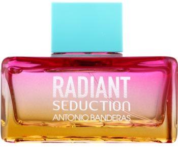 Antonio Banderas Radiant Seduction Blue Eau de Toillete για γυναίκες 100 μλ