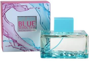 Antonio Banderas Splash Blue Seduction Eau de Toillete για γυναίκες 100 μλ