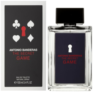 Antonio Banderas The Secret Game eau de toilette pour homme 100 ml