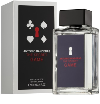 Antonio Banderas The Secret Game Eau de Toillete για άνδρες 100 μλ