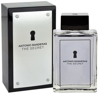 Antonio Banderas The Secret Eau de Toillete για άνδρες 100 μλ
