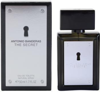 Antonio Banderas The Secret Eau de Toilette für Herren 50 ml