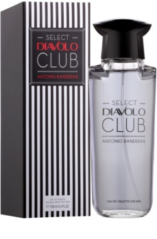 Antonio Banderas Select Diavolo Club Eau de Toilette for Men 100 ml
