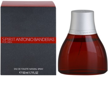 Antonio Banderas Spirit for Men eau de toilette per uomo 50 ml
