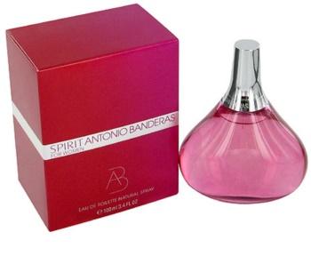 Antonio Banderas Spirit for Woman Eau de Toilette für Damen 100 ml