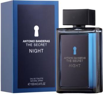 Antonio Banderas The Secret Night Eau de Toillete για άνδρες 100 μλ