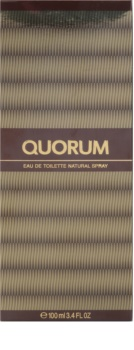 Antonio Puig Quorum Eau de Toilette for Men 100 ml