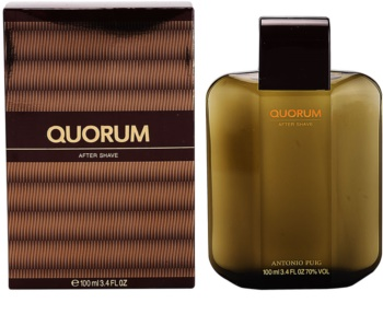 Antonio Puig Quorum Aftershave Water for Men 100 ml