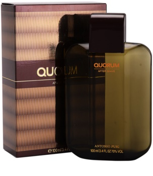 Antonio Puig Quorum Aftershave lotion  voor Mannen 100 ml