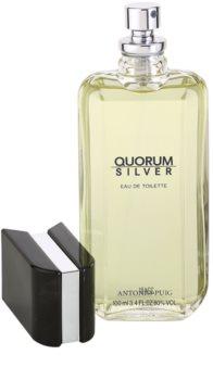 Antonio Puig Quorum Silver Eau de Toilette for Men 100 ml