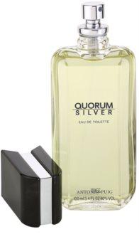 Antonio Puig Quorum Silver woda toaletowa dla mężczyzn 100 ml