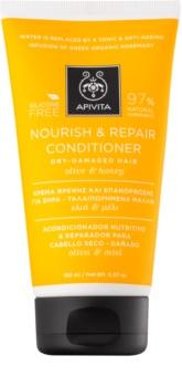 Apivita Holistic Hair Care Olive & Honey hranilni balzam za suhe in občutljive lase