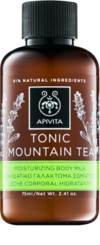 Apivita Body Tonic Bergamot & Green Tea lait tonifiant corps