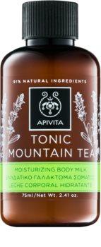 Apivita Body Tonic Bergamot & Green Tea Toning Melk  voor het Lichaam