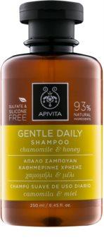 Apivita Holistic Hair Care Chamomile & Honey champú para uso diario