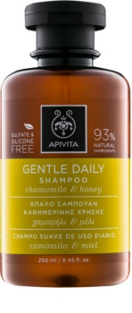 Apivita Holistic Hair Care Chamomile & Honey shampoing usage quotidien