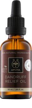 Apivita Holistic Hair Care Celery & Propolis Olie  tegen Roos