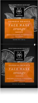 Apivita Express Beauty Orange Revitalising and Brightening Mask