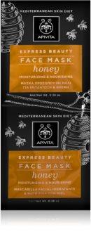 Apivita Express Beauty Honey masque visage hydratant intense