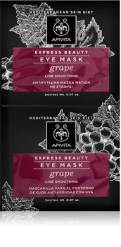 Apivita Express Beauty Grape glättende Augenmaske