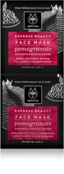 Apivita Express Beauty Pomegranate masque revitalisant visage éclat instantané