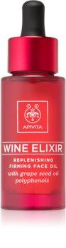 Apivita Wine Elixir Grape Seed Oil olje za učvrstitev za obraz