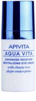 Apivita Aqua Vita інтенсивний зволожуючий та відновлюючий крем для шкріри навколо очей