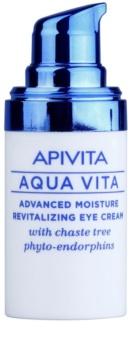Apivita Aqua Vita crema hidratanata si revitalizanta intensiva zona ochilor