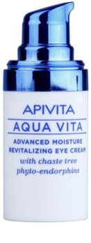 Apivita Aqua Vita crema idratante e rivitalizzante intensa per il contorno occhi