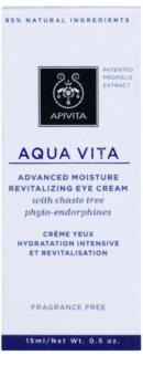 Apivita Aqua Vita crème hydratante et revitalisante intense contour des yeux