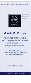 Apivita Aqua Vita intensive feuchtigkeitsspendende und revitalisierende Creme für die Augenpartien