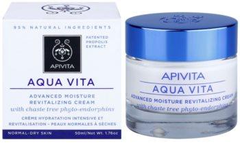 Apivita Aqua Vita intenzívny hydratačný a revitalizačný krém pre normálnu a suchú pleť