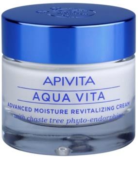 Apivita Aqua Vita Intensief Hydraterende en Revitaliserende Crème voor Gemengde en Vette Huid