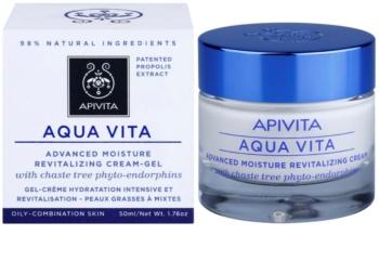 Apivita Aqua Vita crema hidratanata si revitalizanta intensiva pentru ten mixt si gras