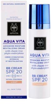 Apivita Aqua Vita BB Cream hidratant si revitalizant SPF 20