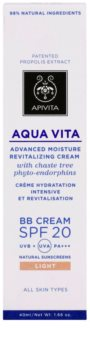 Apivita Aqua Vita Advanced Moisture Revitalizing Cream - BB Cream SPF 20