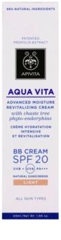 Apivita Aqua Vita hidratantna i revitalizirajuća BB krema SPF 20