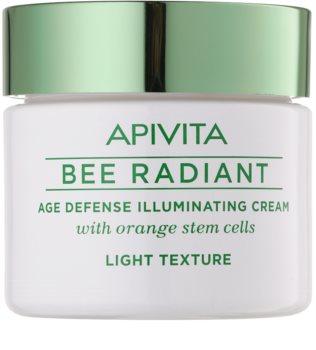 Apivita Bee Radiant blaga krema za pomlađivanje za sjaj lica