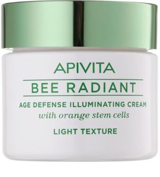Apivita Bee Radiant crema leggera perfezionatrice illuminante