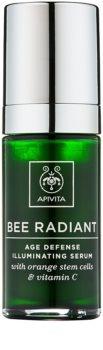 Apivita Bee Radiant sérum facial rejuvenecedor e iluminador