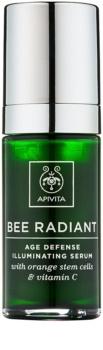 Apivita Bee Radiant sérum rajeunissant et illuminateur visage