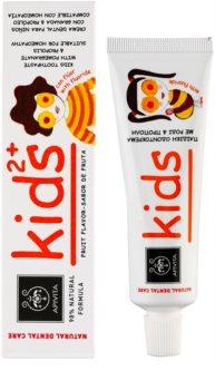 Apivita Natural Dental Care Kids 2+ zubna pasta za djecu