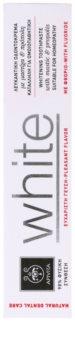 Apivita Natural Dental Care White pasta de dientes blanqueadora
