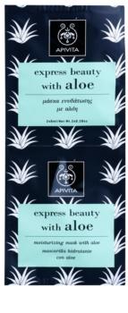 Apivita Express Beauty Aloe hydratační pleťová maska