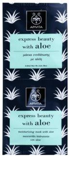 Apivita Express Beauty Aloe vlažilna maska za obraz